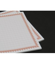 Glossy paper squares - 50 sheets / A4