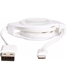 AmazonBasics retractable Lightning cable 0.6 meter