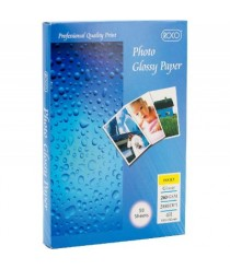 Roco photo glossy paper, 240 GSM, 50 sheets, 100 X 150 mm