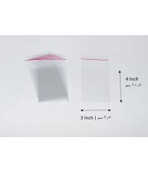 Transparent adhesive bag - 3x4 Inch | 7.5x10 cm