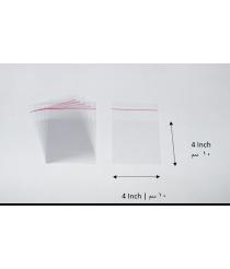 Transparent adhesive bag - 4x4 Inch | 10x10 cm