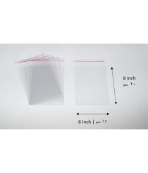 Transparent adhesive bag - 6x8 Inch |15x20 cm